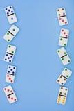 De Grens van de domino Stock Fotografie
