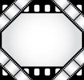 De grens van de film Stock Afbeeldingen