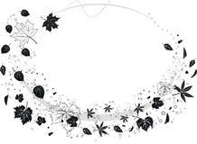 De grens van de herfst Stock Illustratie