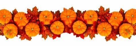 De Grens van de herfst Blauwe hemel Royalty-vrije Stock Afbeelding