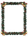 De Grens van de hulst die op wit wordt geïsoleerds Royalty-vrije Stock Afbeelding