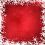 De grens van de Kerstmissneeuwvlok vector illustratie