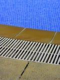 De grens van de pool Stock Foto's