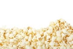 De grens van de popcorn Royalty-vrije Stock Foto's