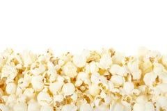 De grens van de popcorn Stock Afbeelding