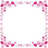 De grens van de valentijnskaart Royalty-vrije Stock Afbeelding