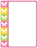 De grens van de vlinder Stock Afbeelding