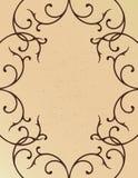 De grens van de wijnstok Stock Afbeelding