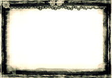 De grens van Grunge royalty-vrije illustratie