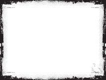 De grens van Grunge - vector vector illustratie