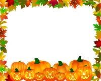De grens van Halloween Stock Foto's