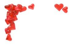 De grens van harten Stock Afbeeldingen