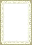 De Grens van het certificaat Royalty-vrije Stock Fotografie