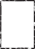De Grens van het Frame van Grunge Stock Afbeelding
