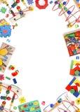 De grens van het kleurenspeelgoed Royalty-vrije Stock Foto's