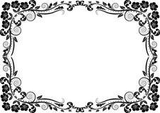 De grens van het silhouet Stock Fotografie
