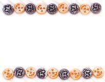 De Grens van het Suikergoed van Halloween Stock Afbeelding