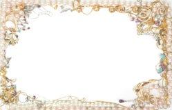 De grens van juwelen Royalty-vrije Stock Afbeeldingen