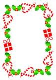 De Grens van Kerstmis Stock Foto