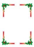 De grens van Kerstmis Royalty-vrije Stock Fotografie