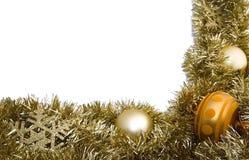 De grens van Kerstmis royalty-vrije stock foto