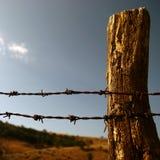 De grens van landbouwbedrijven Royalty-vrije Stock Foto