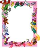 De Grens van Themed van het jonge geitje Royalty-vrije Stock Foto