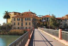 Ventimiglia, Ligurië, Italië Royalty-vrije Stock Afbeeldingen