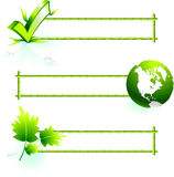 De grenselementen van het bamboe Royalty-vrije Stock Foto's