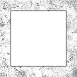 De grenskader van de Grungetextuur stock illustratie