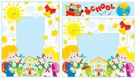 De grenzen van de school Royalty-vrije Stock Afbeeldingen