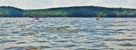 DE Grey Lake royalty-vrije stock afbeeldingen