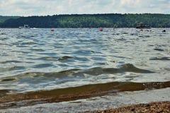De Grey Lake Royaltyfri Foto
