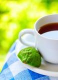 De Grey thee van Graaf met bergamot stock fotografie