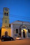 De Griekse mening van de kerkavond royalty-vrije stock fotografie