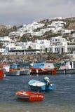 De Griekse Reeks van Eilanden - Mykonos Stock Foto