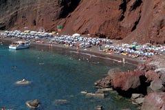 De Griekse Reeks van Eilanden - Santorini Stock Foto's