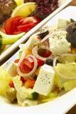 De Griekse Salade Royalty-vrije Stock Foto's