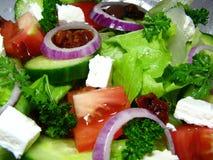 De Griekse Salade van de Stijl Royalty-vrije Stock Fotografie