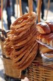 De Griekse Snacks van de Straat Royalty-vrije Stock Afbeelding