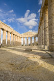 De Griekse Tempel Sicilië Royalty-vrije Stock Afbeeldingen