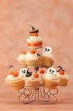 De Griezelige Cakes van Halloween stock fotografie