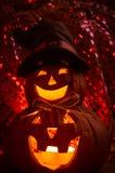 De griezelige Pompoen van Halloween royalty-vrije stock afbeelding