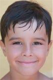 De grijnzende Jongen van de Zomer Stock Foto