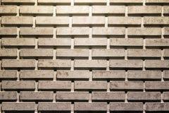 De grijze abstracte achtergrond van de bakstenen muurtextuur of textuur Stock Afbeeldingen