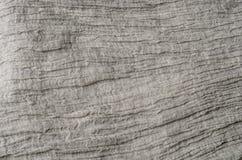 De grijze achtergrond van de linnentextuur Stock Afbeelding