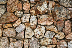 De grijze achtergrond van de steenmuur Stock Afbeelding