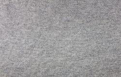 De grijze achtergrond van de stoffentextuur Stock Afbeelding