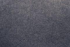 De grijze achtergrond van de suèdetextuur Stock Afbeeldingen