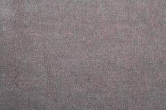 De grijze achtergrond van de suèdetextuur Royalty-vrije Stock Afbeelding